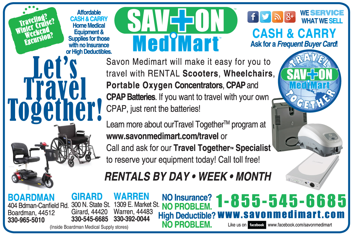 Savon Medimart Travel Together Program Ad