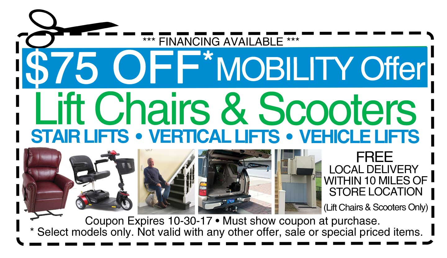 $75 Off Mobility Lifts