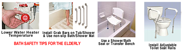 Bath Safety Tips for Elderly