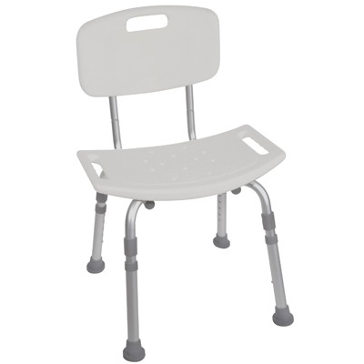 Drive Bath Bench with Back #12202KD-4