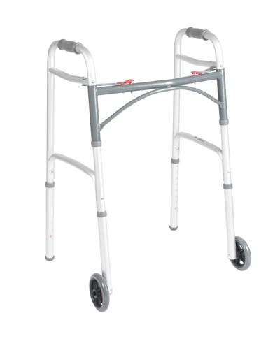 """Drive Walker w/5"""" Fixed Wheels"""