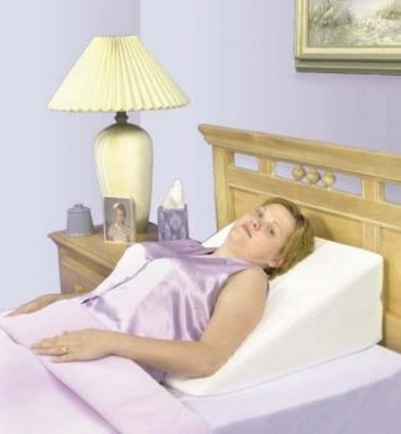 "Essential Covered Bed Wedge - 7.5"" x 24"" x 26"" #F1575-2"