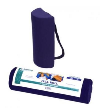 "N6002 Essential Half Lumbar Cushion with Strap - 2"" x 12"""
