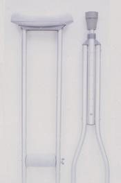 """W4001 Essential Endurance Youth Crutches - 4'6"""" to 5'2"""" Tall"""