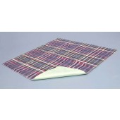 "C2010 Essential Quik Sorb 18"" x 24"" Plaid Underpad"